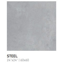 Porcelanato Ilva Mediterranea Steel Rectificado - 60x60