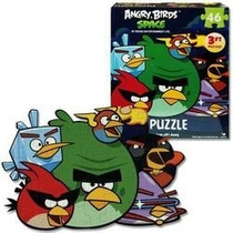 Hot Space Angry Birds 46 Pc Floor Puzzle