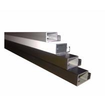 Perfil De Aluminio P/tela Mosquiteiro- Barra 1 Mt Cinza-mm1