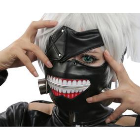 Máscara Tokyo Ghoul Kaneki Ken Para Cosplay A Pronta Entrega