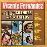 Cd Vicente Fernandez 15 Grandes Exitos