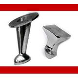 Patas De Aluminio Metal Inclinada Para Sillones