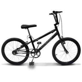 Bicicleta Cross Bmx Ultra Aro 20 V-brake Preto Fosco