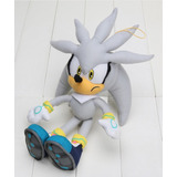 Peluche Sonic The Hedgehog Silver
