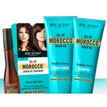 Morocco Argan Oil Shampoo + Acondicionador + Aceite