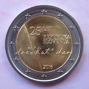 Eslovenia - Moneda 2 Euros 2016 - Aniv. Independencia ¡ S/c!