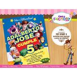 Toy Story ::: Invitaciones Digitales Imprimibles Y Whatsapp