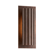 Lampara Exterior Pared Dwell Country Rust 13 3/4 High Led