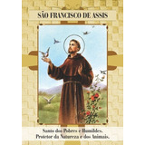 Santinho São Francisco De Assis -milheiro De Promessa Oração