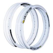 Aro Roda Aluminio Motard Branco 18x250-18x250 (par) Monaco
