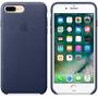 Capa Case Couro Para Celular Iphone 7 Plus Tela 5.5+1p/vidro