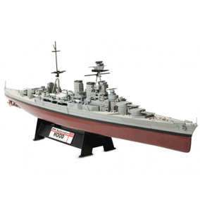 Hms Battlecruiser Hood-denmark Straight, 1941 1:700 Scale Fo