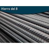 Varilla Hierro Aletado 8mm X 12 Mts Mercadopago, Pilar