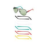 Óculos De Sol Masculino Champion Gs00003a Troca Hastes Loja