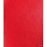 Tecido Corino Sintético Vermelho - Para Puffs, Sofás- 9 Mts