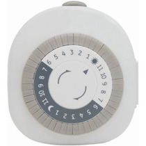 Ge 24 Horas Temporizador Mecánico Plug-in Con 1 Enchufe A T