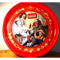 Bandeja Metálica Coca Cola Oficial Cocina Italiana