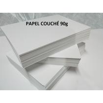 Papel Couchê A4 Fosco (90g/m²) - 1000 Folhas - Barato