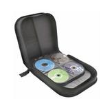 Case Guarda Porta Cd Dvd Blu-ray Maleta 240 Mídias Porta-cd