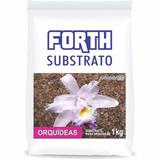 Fertilizante Forth Substrato Orquídeas Casca Pinus 1kg