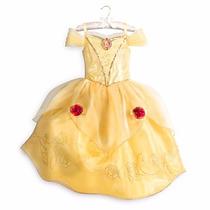 Disfraz Vestido Bella Y Bestia Disney Store Todos Los Talles