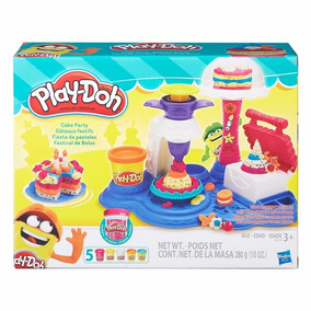 Brinquedos Massinha Modelar Play Doh Fabrica De Bolos B3399