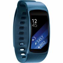 Reloj Samsung Gear Fit 2 Contra Agua Touch Gps Wi-fi Blue