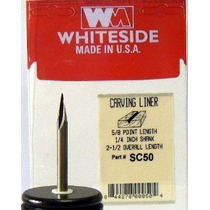 Whiteside Router Bits Sc50 Talla Liner 11-grado En Un 5/8-pu