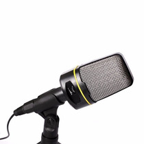Micrófono Condensador 3.5mm Para Pc, Laptop, Celular, Cámara
