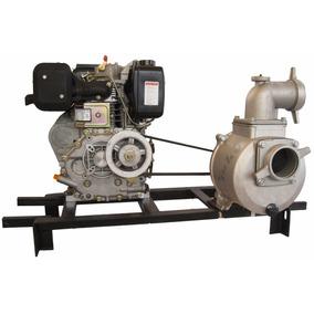 Motobomba 3 , 3x3 Acoplamiento Por Polea Motor Diesel 8.5hp