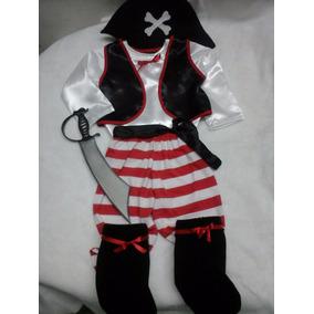 Disfraz De Pirata Niño Niña Nene Nena A Medida Por Encargo