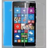 Capa Dura Acrílica Transparente Nokia Lumia 535