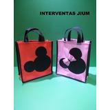 Cotillones Infantiles Silueta De Minnie Y Mickey