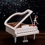 Cajita Musical Piano De Cola Con Bailarina !!