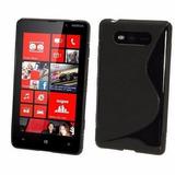 Capa Tpu S-type + Película Nokia Lumia 820 N820