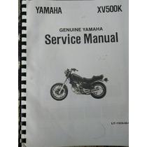 Manual De Servicio Yamaha Virago 500 Para Mecánicos.