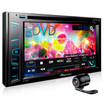 Dvd Player 2 Din Pioneer Avh-298bt Bluetooth Usb + Camera