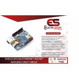 Shield Ethernet Wiznet W5100 Arduino Uno Y Mega