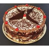 Torta Chocolate Dulce Leche Crema Casera Decorada Envios
