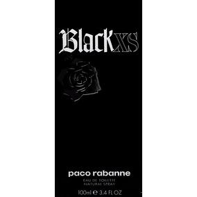 Perfume Paco Rabanne Masculino Black Xs Edt 100 Ml