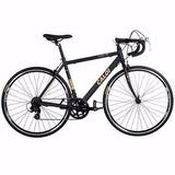 Bicicleta Caloi 10 Aro 700 Preta/dourada
