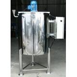 Tanque Misturador / Agitador Em Aço Inox