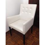 Cadeira Poltrona Para Sala De Jantar - Conjunto 8 Cadeiras