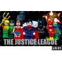 Liga Da Justiça Lego Painel 3,00x1,60m Festa Aniversários