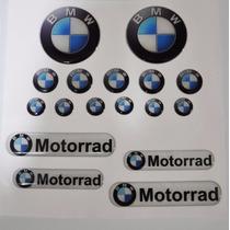 Adesivo Refletivo Rel 3d M2 Moto Capacete Carro Bmw Motorrad