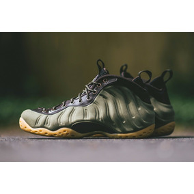Tenis Nike Air Foamposite One Prm Olive