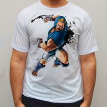 Camiseta Abel Street Fighter Blusa Camisa