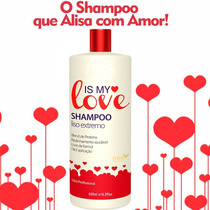 Is My Love Shampoo Alisante 500 Ml + Mega Brinde
