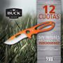 Cuchillo De Caza Buck Paklite Large Skinner Agente Oficial