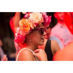 Corona Flores Novia Quince Cotillón Carnaval Carioca